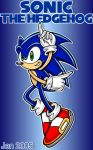 :SONIC: Sonic Adventure style by JenHedgehog
