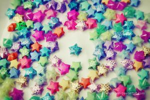 Origami stars by nhuthanh