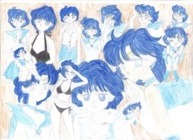 Sailor Mercury Mix by Rainbow-Sword