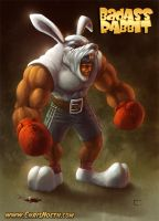 BadAss Rabbit by ChrisNoeth