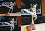 Claymore Clare figure_unpaited. by Jambal