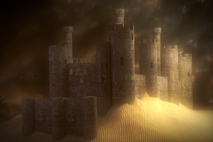 Sand Castle by Blanco111