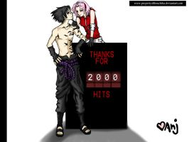 Thanks for two-thousand hits by PropertyoftheUchiha