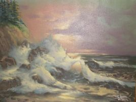My First Seascape by SAOlsen