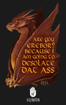 Smaug: Are You Erebor? by Littletde