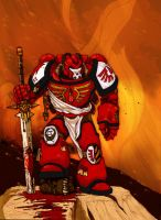 warhammer 40k space marine mk9 by nicopower5000