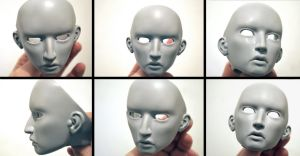 BJD Cyriak: More faces by FreakStyleBJD