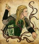 Legolas -painting- by Neldorwen