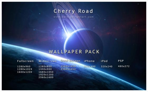 Cherry Road Wallpaper Pack by Baro