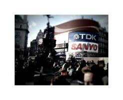 Picadilly Circus by Morillas