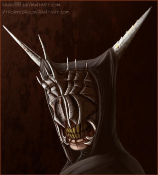 Mouth of Sauron by vtforpedro