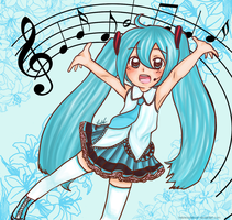 miku by helplessdancer