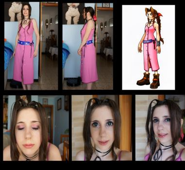 Aerith cosplay Preview! by Riku3Charu