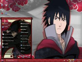 Sasuke Windows XP Theme by Shippudenpro28