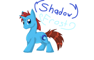 Shadow Frost concept by SighriaDragoness12