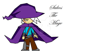 RPG Fighters- Saleos The Mage by DabZen