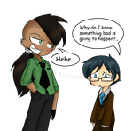 Com: Jay and Walter by Natsumi-chan0wolf