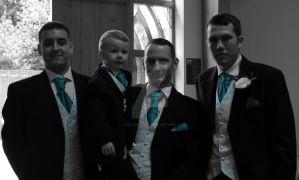 the groom and grooms men by bellatrix69
