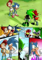 Sonic vs Fiona page 3 by Jowybean
