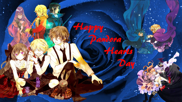 Pandora Hearts Day by clockmakersassistant