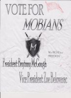 Vote for Mobians Poster (Last Year School) by Cassamara