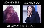 Monkey See, Monkey Do by EZReader111