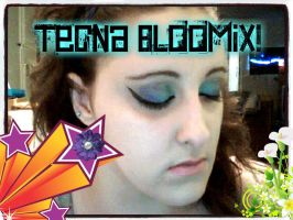 For WinX Club Fans: Tecna Bloomix Makeup Tutorial by SupernovaSword