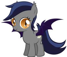 Echo the Bat Pony 7: Filly Edition by Zee66