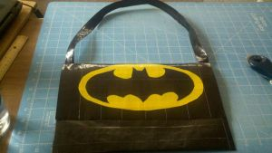 Batman Duct tape purse by Fairygirl1031