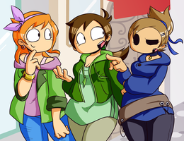 Eddsworld Girls by Asagi-Samejima