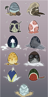 Themed Mystery Egg Adoptables by Pred-Adopts