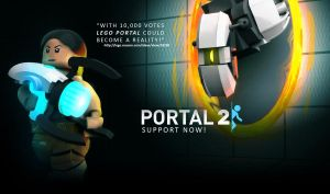 Lego PORTAL (Cuusoo) by LordObliviontheGreat