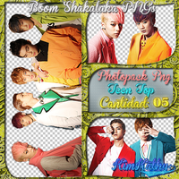 Teen Top Pack PNG by KimKathy
