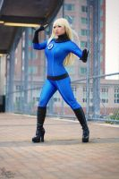 Invisible Woman III by EnchantedCupcake