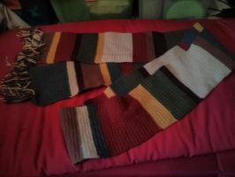 Doctor Who season 14 scarf - commission - 2 by Kira-Kat