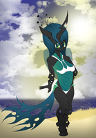 Beach Party Chrysalis by V-D-K