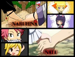 -- NaruHina And NaLu -- by LilyRose98