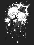 Skull Star Design by shirononekojin