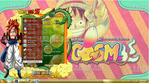 THEME WINDOWS 7 ULTIMATE DRAGON BALL by ToxicoSM