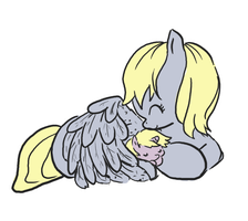 derpy n dinky by Cloverminto