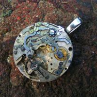 Steampunk TRANSFORMERS Pendant by Create-A-Pendant