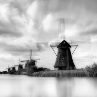 Dutch windmills by KeesSmans