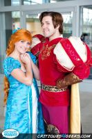 Prince Edward and Giselle Cosplay from Enchanted by Chingrish