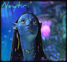 Neytiri and the Sign by RockerMissTammy