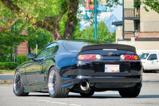 Black Super Supra by SeanTheCarSpotter