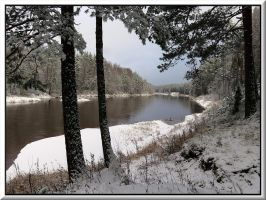 Gauja river before frost... by Yancis