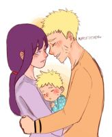 naruhina month day 1 - sunshine by Jesslynnnj