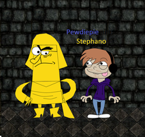 Stephano and Pewdie by KittenKakashi