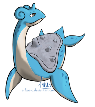 Day 12 - Lapras by Ankaa-C
