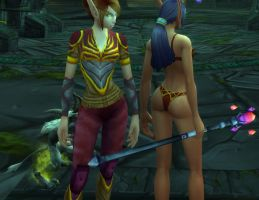 Blood Elf Female 256 - Ghostlands by solarnova1101